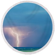 Natures Avenging Spirit  Round Beach Towel by James BO  Insogna