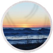 Natures Canvas Round Beach Towel