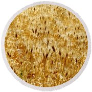 Natures Congestion Round Beach Towel