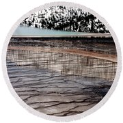 Nature's Mosaic II Round Beach Towel