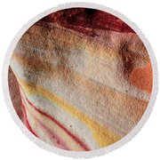Nature's Valentine Round Beach Towel
