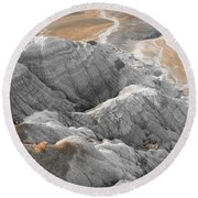Navaho Badlands Round Beach Towel