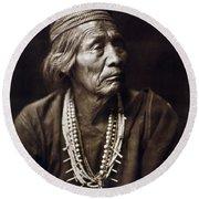 Navajo Medicine Man, C1904 Round Beach Towel