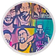 Nba Nuthin' But Africans Round Beach Towel