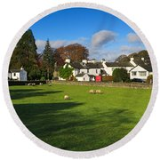 Near Sawrey In The Lake District Round Beach Towel