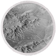 Nevada Skyview Round Beach Towel