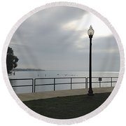 New Baltimore Round Beach Towel