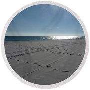 New Beach Round Beach Towel