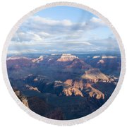 New Day At The Grand Canyon Round Beach Towel