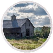 New Gloucester 7p00331 Round Beach Towel by Guy Whiteley