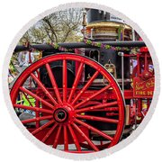 New Orleans Fire Department 1896 Round Beach Towel