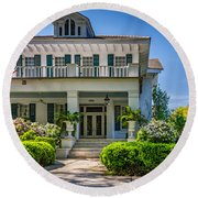New Orleans Home 5 Round Beach Towel