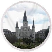 New Orleans Round Beach Towel
