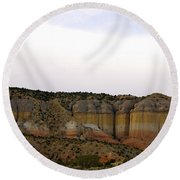 New Photographic Art Print For Sale Breaking Bad Country New Mexico Round Beach Towel