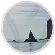 New Photographic Art Print For Sale Californian Channel Islands And Pacific Ocean 2 Round Beach Towel