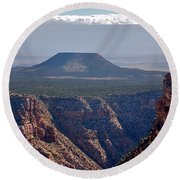 New Photographic Art Print For Sale Grand Canyon Round Beach Towel