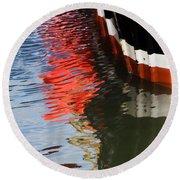 New Seeker Reflections Round Beach Towel