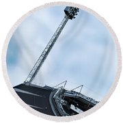 New Ullevi Stadium 06 Round Beach Towel