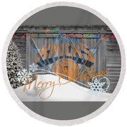 New York Knicks Round Beach Towel