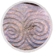 Newgrange Kerb Round Beach Towel