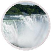 Niagara Falls 12 Round Beach Towel