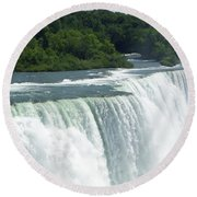 Niagara Falls 8 Round Beach Towel by Aimee L Maher Photography and Art Visit ALMGallerydotcom