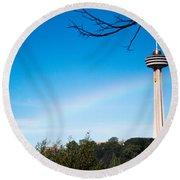 Niagara Landmarks Round Beach Towel