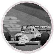 Niki Lauda. 1984 British Grand Prix Round Beach Towel