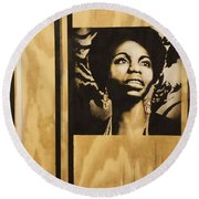 Nina Round Beach Towel