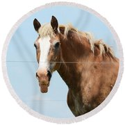 No Manners Round Beach Towel
