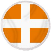 No112 My Fifth Element Minimal Movie Poster Round Beach Towel