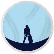 No122 My Underworld Minimal Movie Round Beach Towel