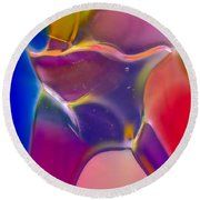 Noble Colors Round Beach Towel