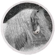 Nor Easter Round Beach Towel