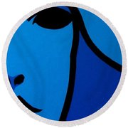 Nora Barnacle Round Beach Towel by John  Nolan