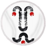 Norman Arches Round Beach Towel