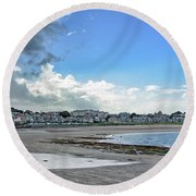 North Berwick Scotland Round Beach Towel