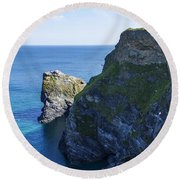Photographs Of Cornwall North Coast  Cornwall Round Beach Towel