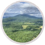 North Conway Vista Round Beach Towel