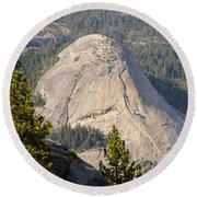 North Dome Round Beach Towel