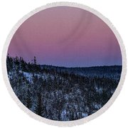 North Of Superior Round Beach Towel