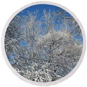 Northern Colors Round Beach Towel