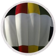 Northern Telecom Ballon Round Beach Towel