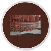 Northshore Cypress Round Beach Towel