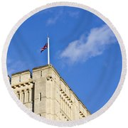 Norwich Castle Round Beach Towel