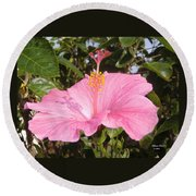 Soothes Your Soul -  Aroma Touch Round Beach Towel