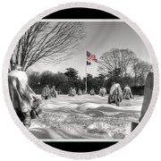 Not Forgotten Round Beach Towel