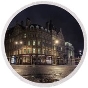 The Somerset House Round Beach Towel