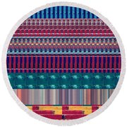 Novino Signature Color Spectrum Buys Any Faa Product Or Download For Self-printing  Navin Joshi Righ Round Beach Towel