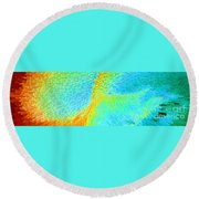 Nude Effect Round Beach Towel